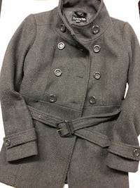 BUTTON UP WINTER JACKET | SIZE S