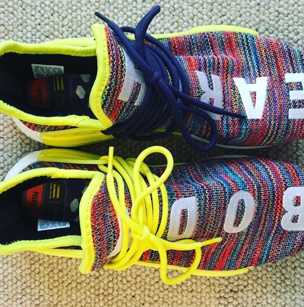 221a58c160636 Adidas Human race shoes nmd trail. Size 9.5. Purchased from goat.com ...