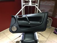 Drivers and passenger door panel black leather wit Mesa, 85212