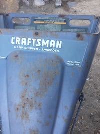 Craftsman wood chipper Morongo Valley, 92256