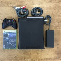 Xbox 360 Elite with Halo 3: ODST and Wireless controller Airdrie, T4B 2P4