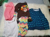 Size 4T clothes for girls