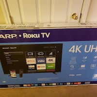 "Brand New 58"" Sharp Smart TV San Antonio"