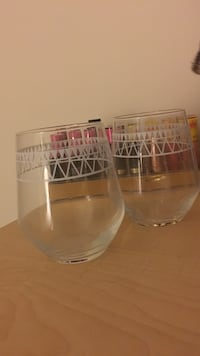 Two clear glass beer mugs Woodbridge, 22192