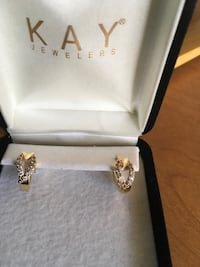 24k pure gold earrings from KAY jewelers Albuquerque, 87110