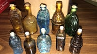 Perfect Antique Miniature Bottle Collection