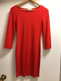Red body on dress (Forever 21) Toronto, M2J 4K3