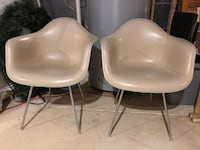 6 Herman Miller dining chairs- vintage Eames chairs. Have original bill of sale Aldie, 20105