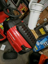 red and black ride on lawn mower Arlington, 76006