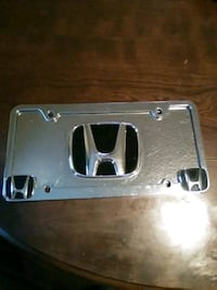 Honda Plates (2) (Both) for $15 Pearl