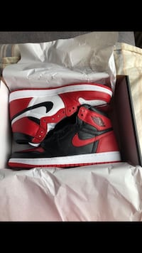 RETRO Jordan 1 Homage To Home size 10.5 Southside Place, 77005