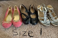 Size 1 toddler shoes  Mount Pleasant, 53405
