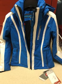 Brand new with tags obermeyer ski jacket with removable hood