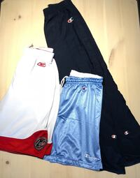 Champion & Iverson Shorts. Champion Tearaways. All sizes (depending on item) Vancouver, V5S 4Y1