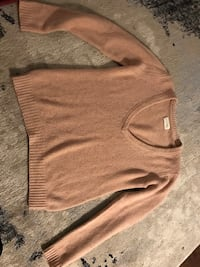 American vintage cashmere authentic sweater Large !!! Toronto