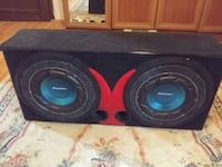 Pioneer bass subwoofer