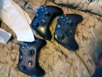 two blue Xbox One controllers Belleville, 62221