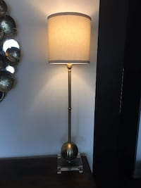 black and red floor lamp TORONTO