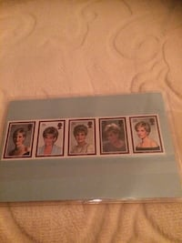 Princess Diana Stamps Collection New Mint Toronto, M5H