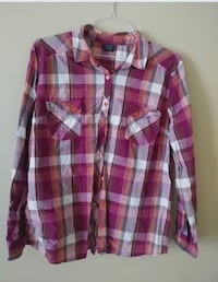 5 Long Sleeved Plaid Shirts for Women