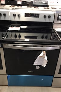 New whirlpool glass top stove  Reisterstown, 21136
