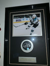 Logan couture signed pick with picture Santa Clara, 95051