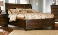 Ashley Furniture Queen size bed  San Bernardino, 92407
