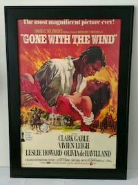 Gone With The Wind Framed Movie Poster  Baltimore, 21201