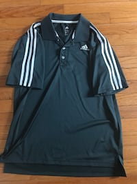 black and white Adidas zip-up jacket Kitchener, N2A 3Z6