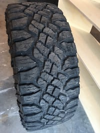 Dodge Ram 1500 tires LT305/55R20 approx 6 months old pick up only  Innisfil, L9S