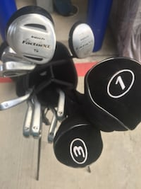 Full set of intech golf clubs with bag and club covers included Houston, 77008