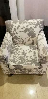 white and brown floral sofa chair Houston, 77057