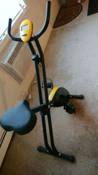 black and yellow stationary bike Elmsford, 10523