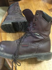 Brown leather work boots Essex, 21221