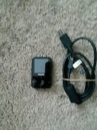 black Philips MP3 player with cable