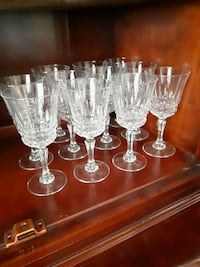 Crystal wine glasses Mississauga, L5W 1B1