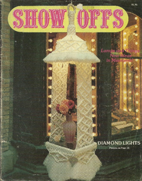 "1978 - Vintage MACRAME Magazine ""Show Offs"" In good condition Pick-up in Newmarket"