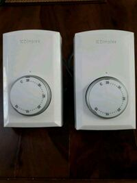 Dimplex Wall Mount Double Pole Thermostats Vancouver, V6R 1Z3