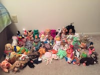 Assorted TY Beanie Babies