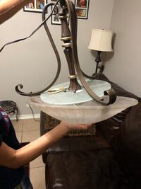Hampton Bay Chandelier New never installed  McAllen, 78504