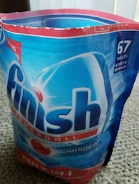 Finish max in one dish washer detergent 797 mi