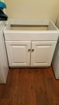 white wooden cabinet with drawer Hampton, 23663