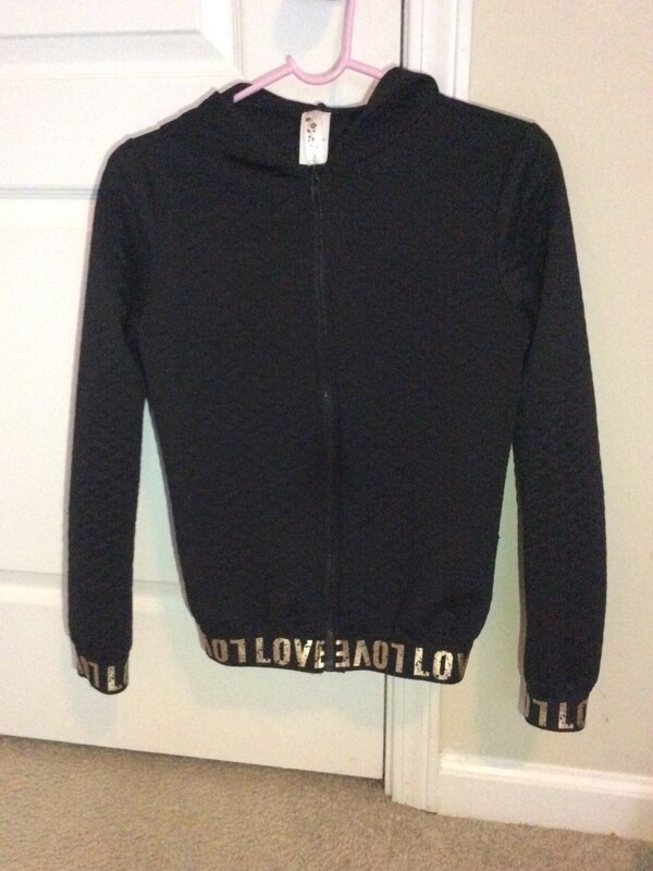 323d0c554fdc Used Black zip up hoodie jacket for sale in Lithonia - letgo