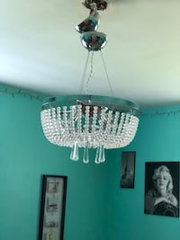 Chandelier W/ Free 2nd set of glass pendents  North Chesterfield, 23236