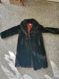 Fo-fur coat, made in England. Vintage.
