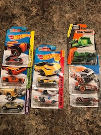 Hot Wheels and more--Large Lot of NIB Die Cast Cars and Machinery