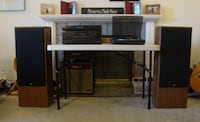Awesome Stereo W/Turntable Vancouver
