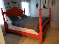 King Pine wood frame, does not include mattress  Casselberry, 32707
