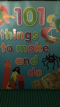 101 things to make and do book