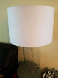 white and gray table lamp Palm Springs, 92262